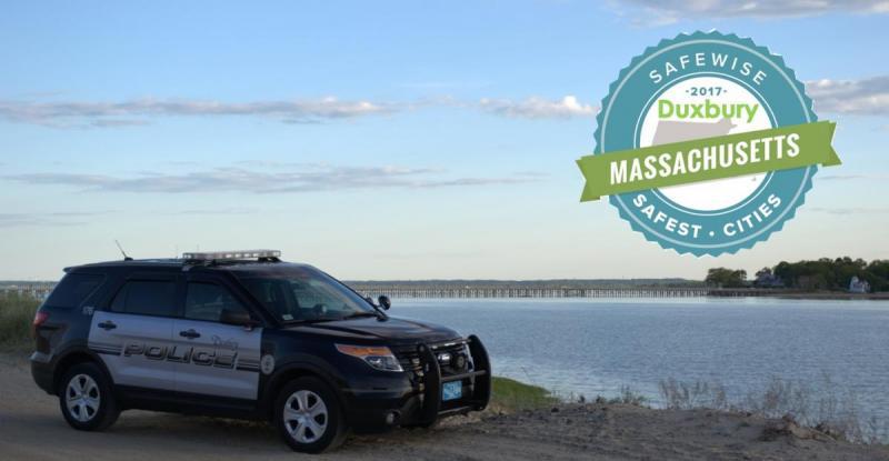 Safewise ranks Duxbury as #10 Safest City in Massachusetts
