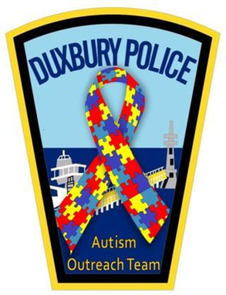 Duxbury Police Autism Outreach Team Patch